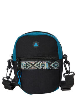 BLACK MENS ACCESSORIES THE BUMBAG CO BAGS + BACKPACKS - CB038BLK