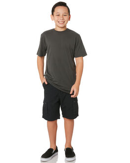 CHARCOAL KIDS BOYS SWELL SHORTS - S3164233CHARC
