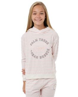 ROSE TAN HEATH BICO KIDS GIRLS ROXY JUMPERS + JACKETS - ERGFT03255MHB3