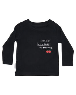 BLACK KIDS TODDLER GIRLS TINY TRIBE TEES - TTW18-1004BBLK