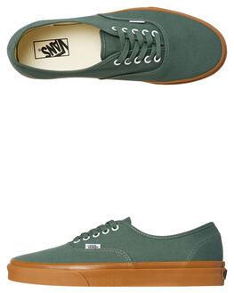 DUCK GREEN GUM WOMENS FOOTWEAR VANS SNEAKERS - SSVNA38EMQ9VDUCKW