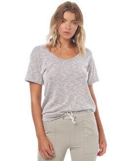 TEXTURED STRIPE WOMENS CLOTHING SWELL TEES - S8171002TXSTP