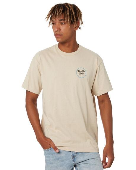 BLONDE MENS CLOTHING BRIXTON TEES - 16533BLNDE