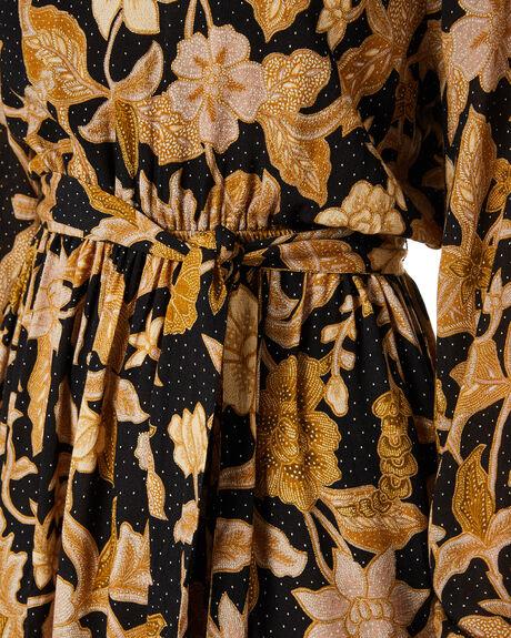 EBONY FLORAL WOMENS CLOTHING TIGERLILY DRESSES - T611400M12