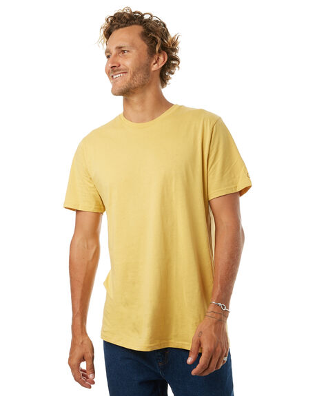 DULL GOLD MENS CLOTHING VOLCOM TEES - A5011530DGLD