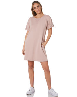 WOOD ROSE WOMENS CLOTHING RUSTY DRESSES - DRL0966WDR