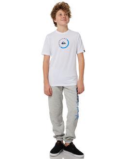 LIGHT GREY HEATHER KIDS BOYS QUIKSILVER PANTS - EQBFB03068SJSH