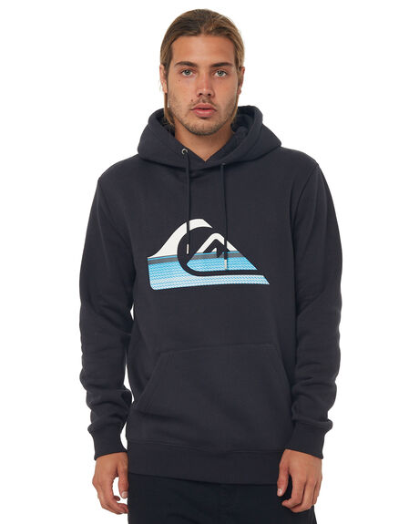 BLACK MENS CLOTHING QUIKSILVER JUMPERS - EQYFT03797KVJ0