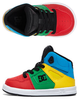 RAINBOW KIDS BOYS DC SHOES FOOTWEAR - ADTS700053-RAI