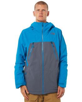 GREY BLUE SNOW OUTERWEAR PATAGONIA JACKETS - NF0A331ZYDKGRYBL