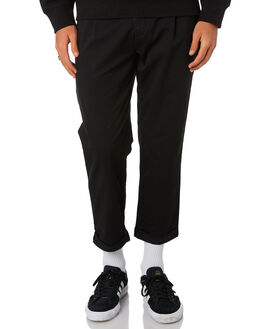 BLACK MENS CLOTHING CARHARTT PANTS - I026538-89BLK
