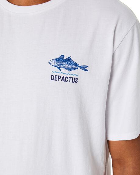WHITE MENS CLOTHING DEPACTUS TEES - D5212001WHITE