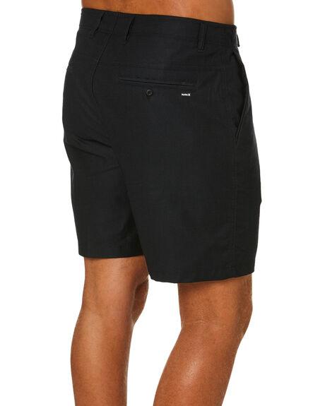BLACK HEATHER MENS CLOTHING HURLEY SHORTS - CJ7194D032