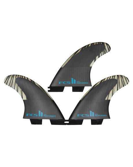 BLACK TEAL BOARDSPORTS SURF FCS FINS - FPER-CC03-TS-RBLKTE