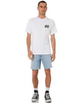 WHITE PATCH MENS CLOTHING DR DENIM TEES - 1941116T29WHTPC