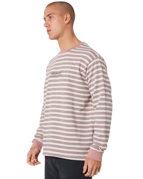 PINK TINT MENS CLOTHING MISFIT JUMPERS - MT096200PNKTN