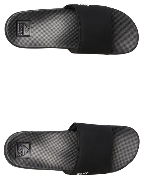 BLACK MENS FOOTWEAR REEF THONGS - A3ONDBLA