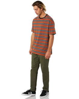 RUST MENS CLOTHING GLOBE TEES - GB02031002RUST