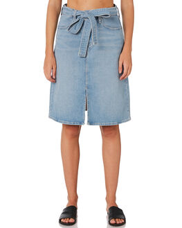 LIGHT AND BRIGHT WOMENS CLOTHING LEVI'S SKIRTS - 72978-0001LIG