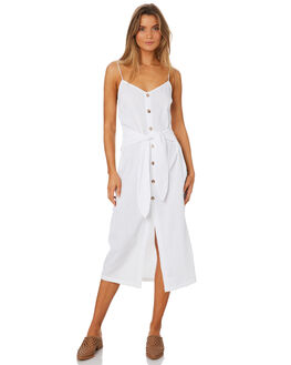 WHITE WOMENS CLOTHING MLM LABEL DRESSES - MLM403AWHT