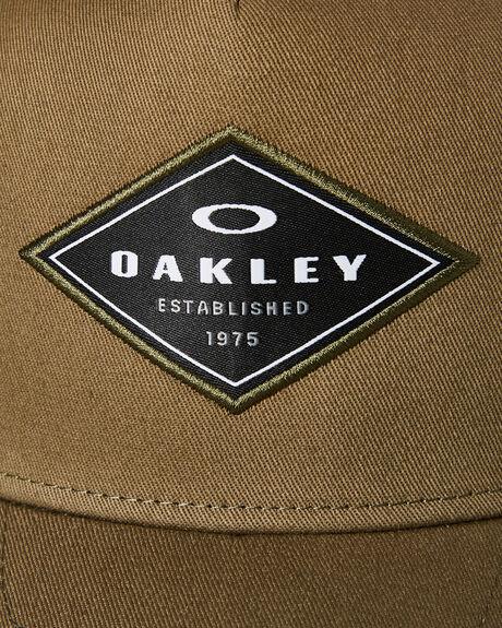 WORN OLIVE MENS ACCESSORIES OAKLEY HEADWEAR - 912007AU79D