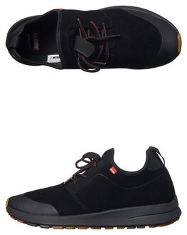 BLACK GUM MENS FOOTWEAR GLOBE SNEAKERS - GBDARTXC-10023