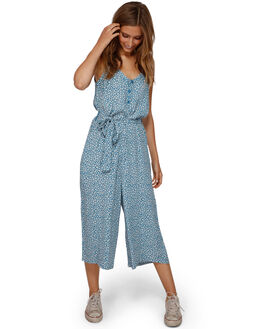 BLUE HAZE WOMENS CLOTHING BILLABONG PLAYSUITS + OVERALLS - BB-6591507-BN4
