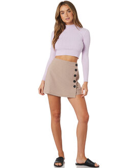 ORANGE MULTI WOMENS CLOTHING TWIIN SHORTS - IE19S1437ORA