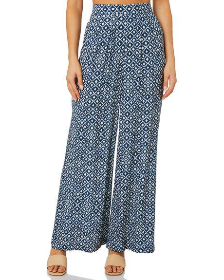 BIJOU BLUE WOMENS CLOTHING TIGERLILY PANTS - T615372U00