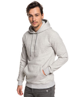LIGHT GREY HEATHER MENS CLOTHING QUIKSILVER JUMPERS - EQYFT03877SJSH