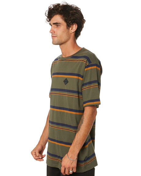 ARMY STRIPE MENS CLOTHING RPM TEES - 21AM01AARST