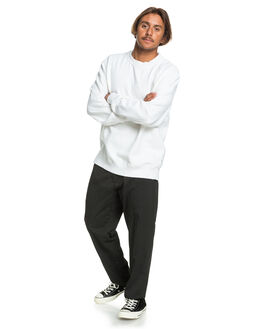 WHITE MENS CLOTHING QUIKSILVER JUMPERS - EQYWT03975-WBB0