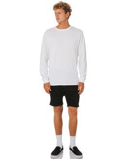BROKEN BLACK MENS CLOTHING NENA AND PASADENA SHORTS - NPMFS002BBLK