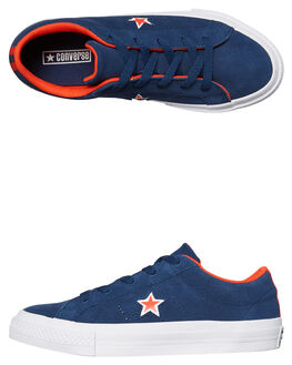 NAVY WHITE KIDS BOYS CONVERSE SNEAKERS - 359731NVY