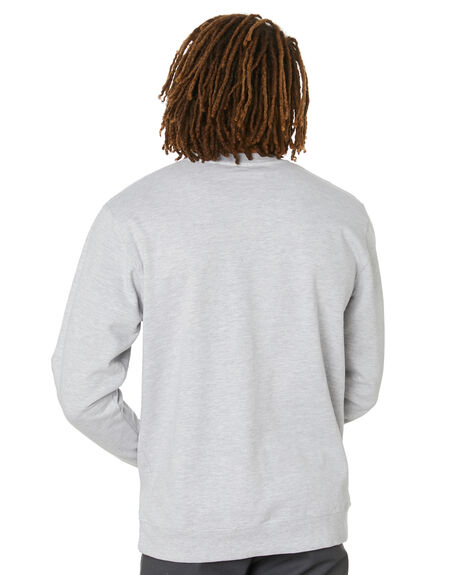 GREY HEATHER MENS CLOTHING POLER HOODIES + SWEATS - 212APM2503-GRH