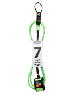 FLURO GREEN BOARDSPORTS SURF CHANNEL ISLANDS LEASHES - 195041013158FGRN