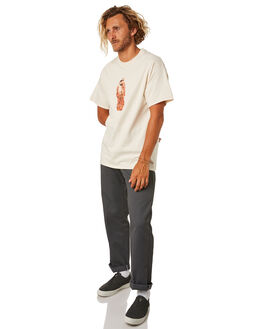 CREAM MENS CLOTHING PASS PORT TEES - PPTRESURYCRM