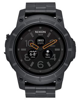 BLACK MENS ACCESSORIES NIXON WATCHES - A1216000