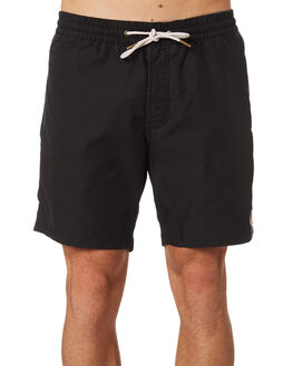 BLACK MENS CLOTHING BARNEY COOLS BOARDSHORTS - 809-CC1BLK