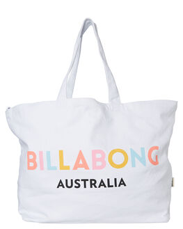 WHITE WOMENS ACCESSORIES BILLABONG BAGS + BACKPACKS - 6681103AWHT