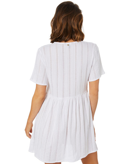 WHITE WOMENS CLOTHING RUSTY DRESSES - SCL0361WHT