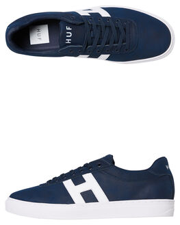 NAVY MENS FOOTWEAR HUF SKATE SHOES - CP00014NVY