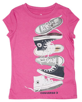 ACTIVE FUCHSIA KIDS GIRLS CONVERSE TOPS - R368107A9X
