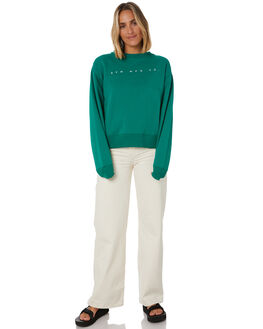 GREEN WOMENS CLOTHING RPM JUMPERS - 20AW09AGRN