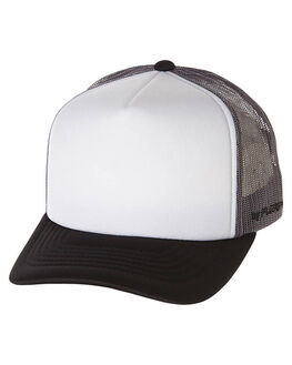 GREY BLACK MENS ACCESSORIES FLEX FIT HEADWEAR - BWT2002GRBK