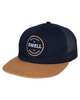 NAVY MENS ACCESSORIES SWELL HEADWEAR - S51941612NAVY