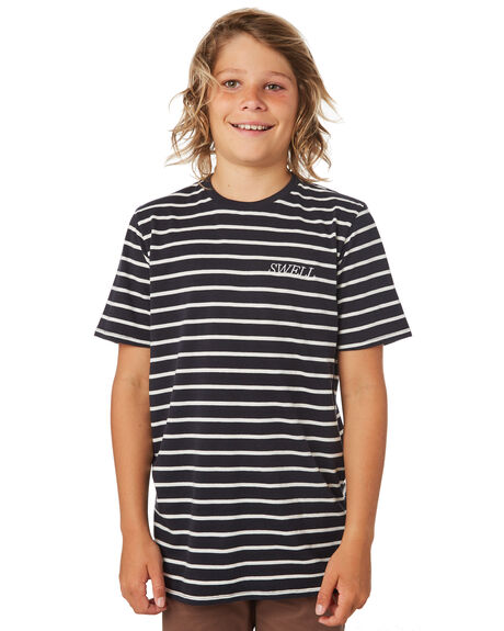 BLACK KIDS BOYS SWELL TOPS - S3182007BLACK