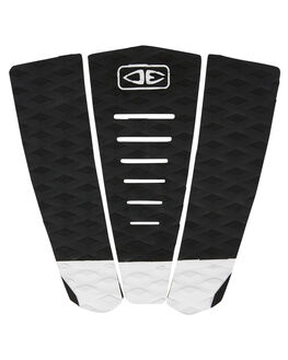 BLACK WHITE BOARDSPORTS SURF OCEAN AND EARTH TAILPADS - TP28BLKWH