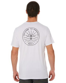 WHITE MENS CLOTHING SWELL TEES - S5182001WHITE