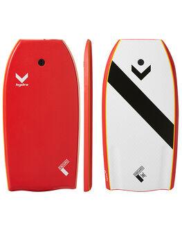 RED SURF BODYBOARDS HYDRO BOARDS - CB17-HYD-038RED